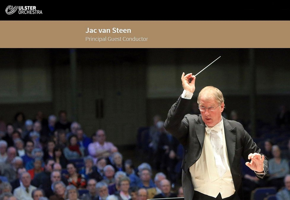 Jac van Steen Ulster Orchestra